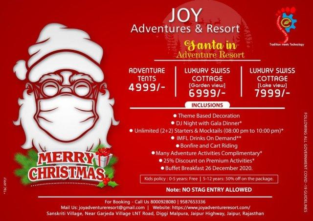 Santa in Adventure Resort