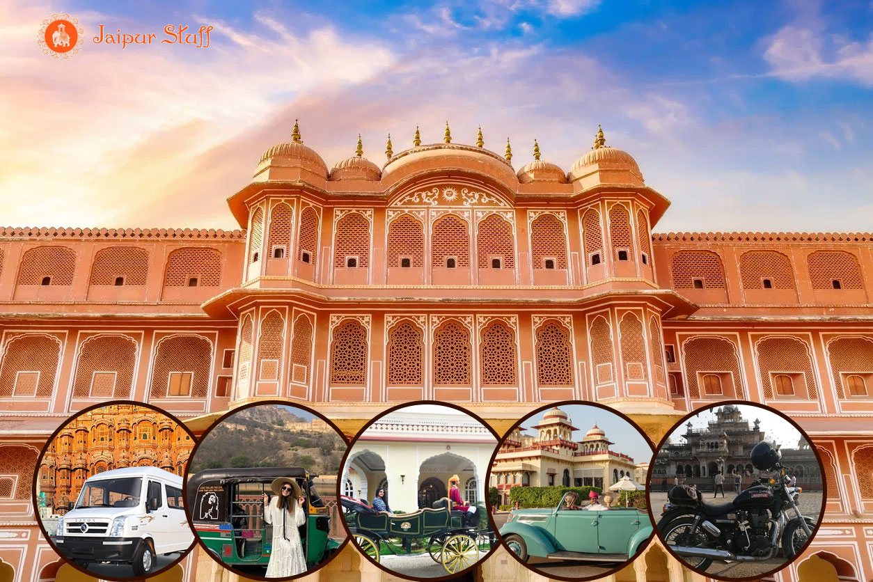 best way to explore jaipur