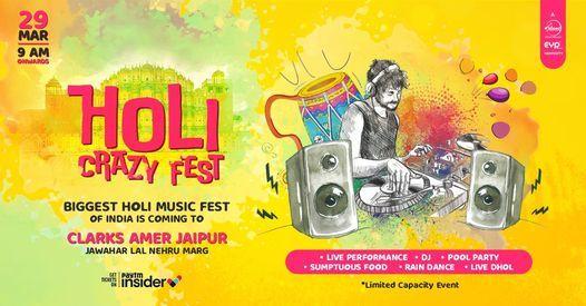 Holi Crazy Fest jaipur