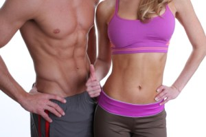 chico y chica fitness