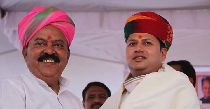 rooparam dhandev with vaibhav gehlot