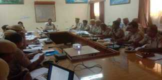 Jaisalmer Crime Meeting