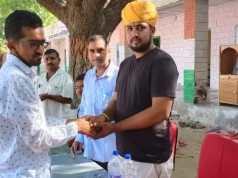 Deputy Head of Panchayat Samiti Sankra Indra Singh Jodha