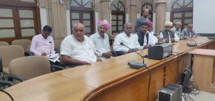जैसलमेर: अयोध्या फैसले के बाद कलेक्टर व एसपी ने ली शांति समिति की मीटिंग 1