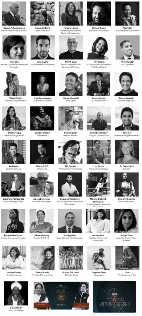 INK-2019 Speakers List event held in Hotel Suryagarh Jaisalmer
