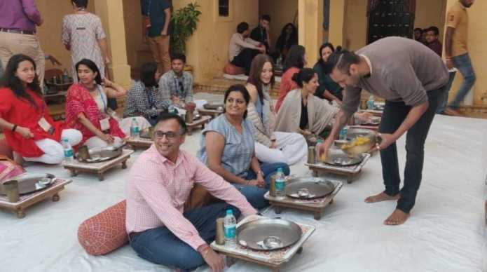 Rajasthani Food In Suryagarh Hotel Jaisalmer