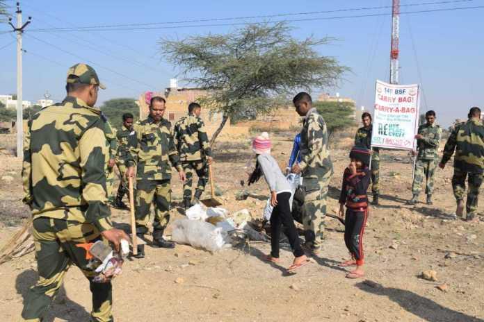 BSF Swachh Bharat Abhiyan