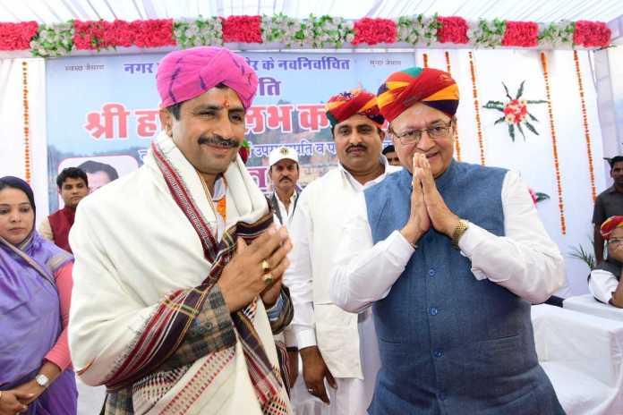 dr. bd kalla with hari vallabh kalla
