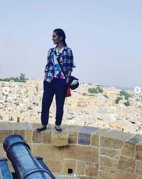 दक्षिण भारतीय Actress सिन्धु लोकनाथ ने किया जैसलमेर का भ्रमण 1