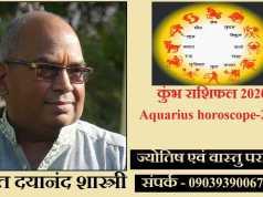 Aquarius horoscope-2020