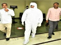 Wajib Ali PPE Kit Rajya Sabha Election
