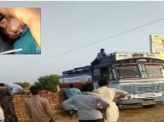 Tanker driver dies due to current at Bharewala petrol pump