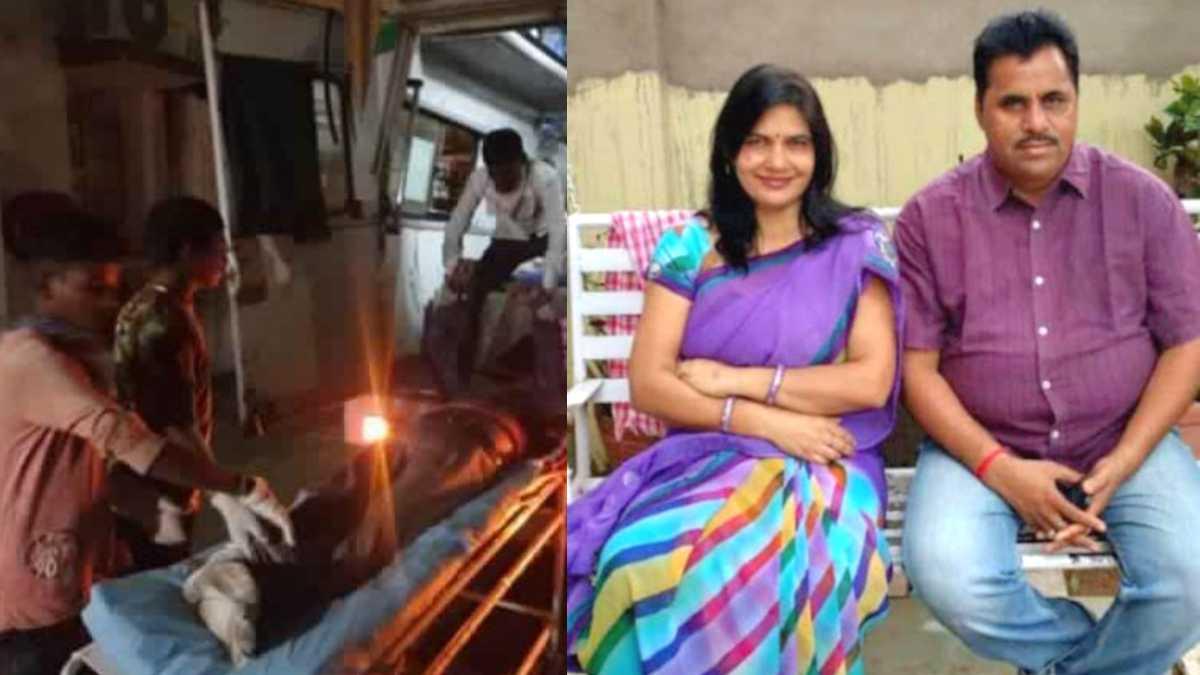 Banswara Ci Akhilesh Kumar Pandya And Wife Death In Accident