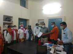 Abuse of female health worker in Bikaner, demand to arrest accused
