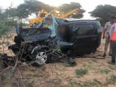 Scorpio Car and tractor-trolley collision in Devikot 3 people died