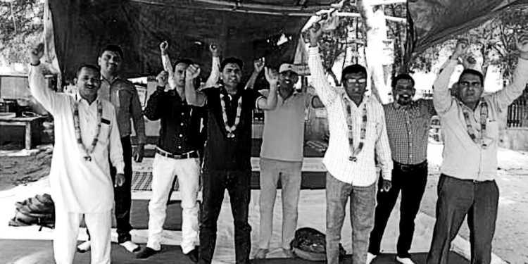 Haryana-1983 dismissed physical teachers are the victim of politics