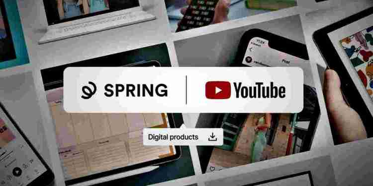 Spring-YouTube Merch Shelf