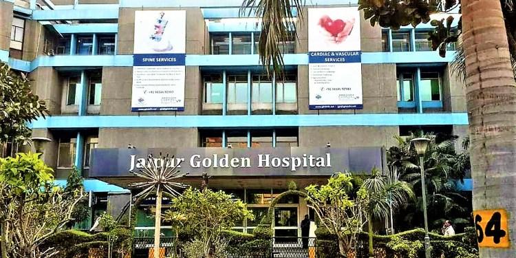 Jaipur golden hospital news