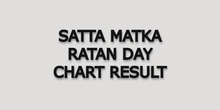 Satta Matka Ratan Day Matka Chart Result