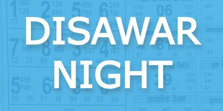 Satta King Disawar Night (Disawar-2) Chart Result