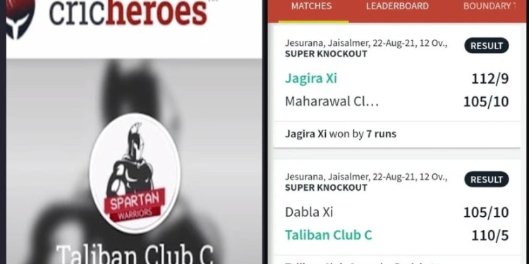 Taliban Cricket Club Team Jaisalmer