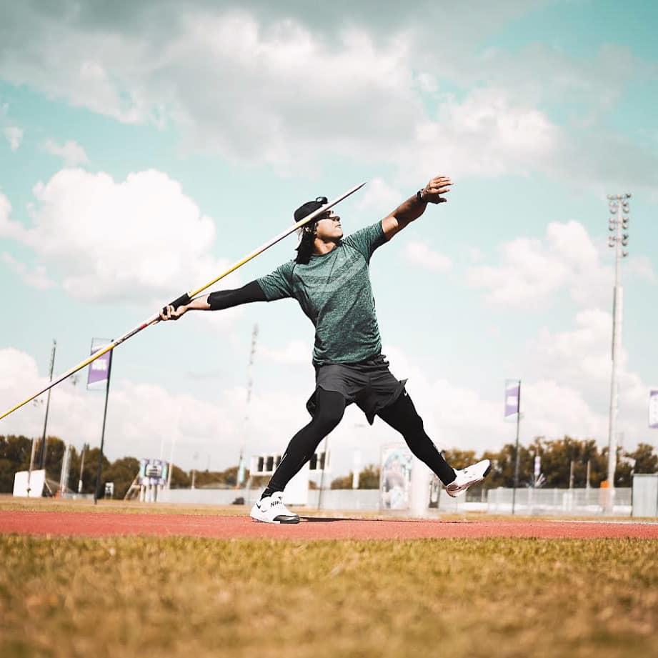 neeraj chopra javelin throw champion