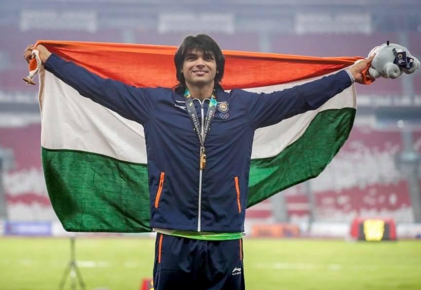 neeraj chopra win gold for india