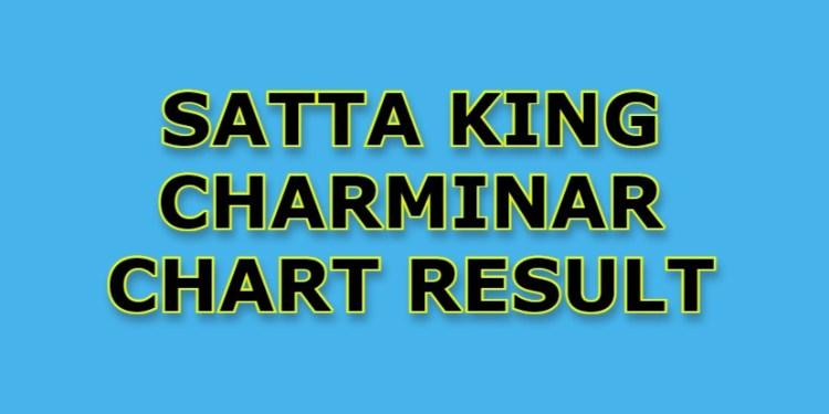 Satta King Charminar Chart Result Today
