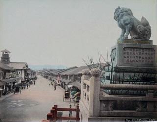 Gionmachi, Kyoto, 1886