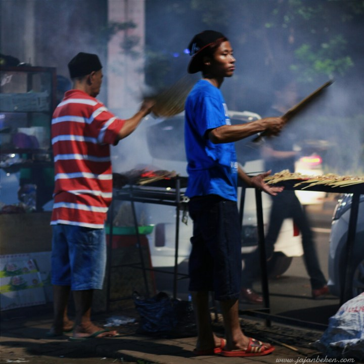 Jajan beken - sate taichan kuliner malam di senayan