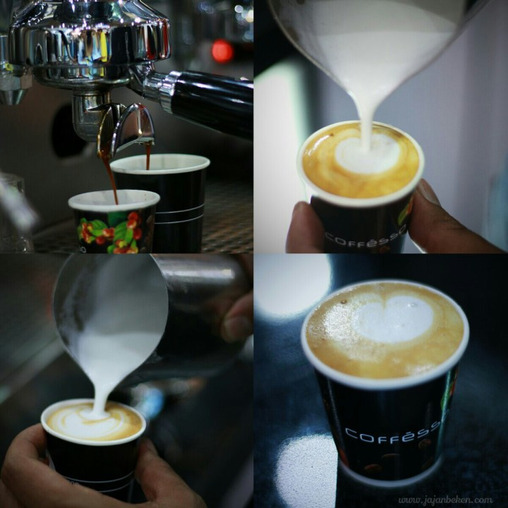 Jajan beken - kopi celup coffesso interfood 2016