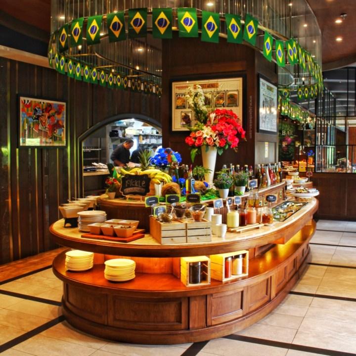 Tucanos Brazilian food restaurant Jakarta