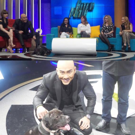JAAN on the show 'Hitam Putih' on TRANS7 ft. Toby - 15/03/2016