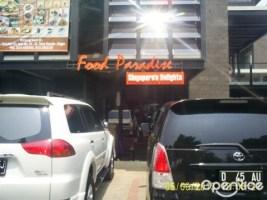 Mencicipi Makanan Khas Singapura, Food Paradise