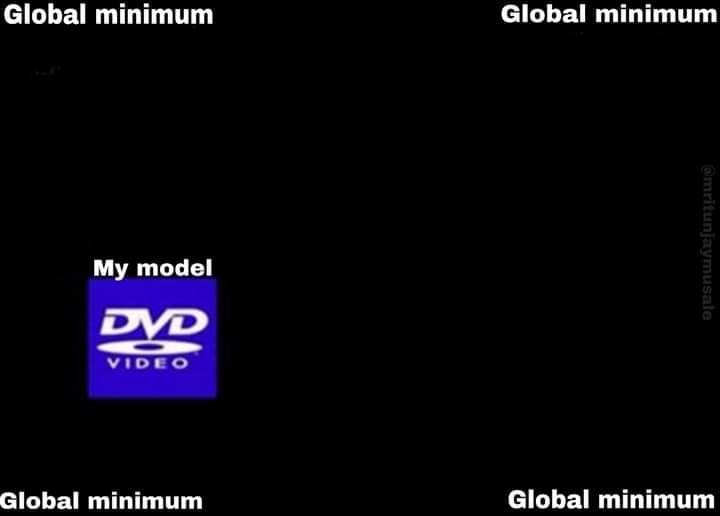 Globalne minimum?