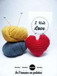 I knit Love par WoolKiss