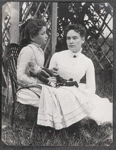 Helen Keller as a child