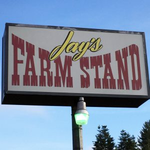 Jay's Farmstand in Olympia