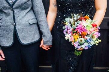 Fonmon Castle Wedding photography-119