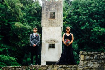 Fonmon Castle Wedding photography-131