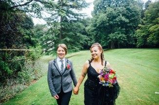 Fonmon Castle Wedding photography-136