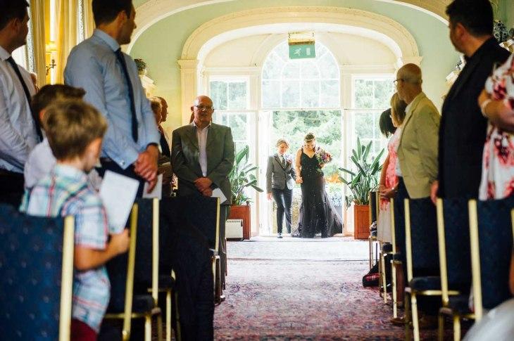 Fonmon Castle Wedding photography-57