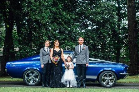 Fonmon Castle Wedding photography-81