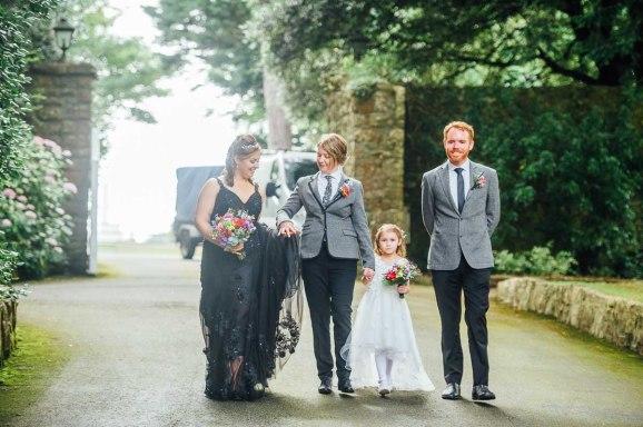 Fonmon Castle Wedding photography-85