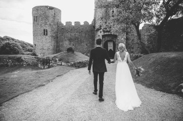 Manobier Castle wedding Photography-240