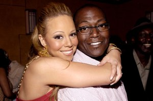 Mariah Carey and Randy Jackson American Idol