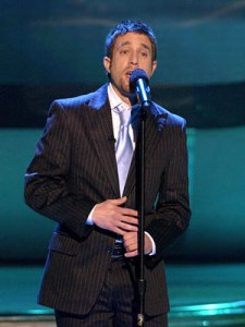 """Elliott Yamin's powerful rendition of """"A Song for You"""" still remains one of the show's best vocal master class performances. (Photo property of 19 Entertainment, FremantleMedia North America & FOX)"""