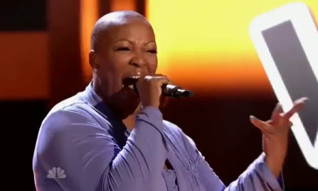 Frenchie Davis blew everyone away with her cover of the Katy Perry hit during the show's first season. (Photo property of Warner Horizon Television, One Tree Media and NBC)