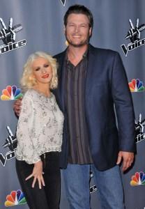 Blake and Christina The Voice