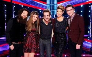 The Voice Season Five Final Five